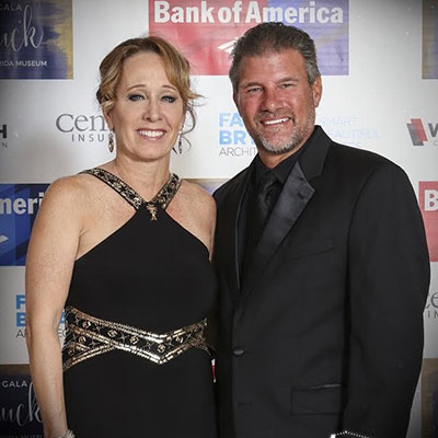 Tom and Kathy Breiter attending the Snooty Gala