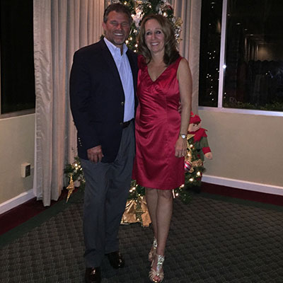 Tom and Kathy Breiter at our 2016 Holiday Social